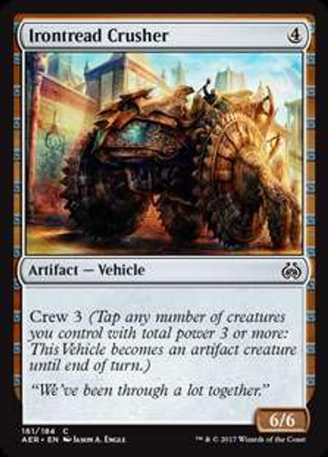 MtG Aether Revolt Common Irontread Crusher #161
