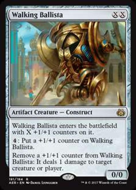 MtG Aether Revolt Rare Walking Ballista #181