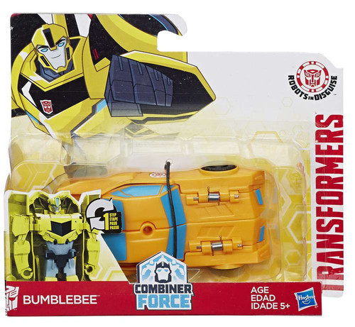 Transformers Robots in Disguise 1 Step Changers Bumblebee Action Figure [Combiner Force]