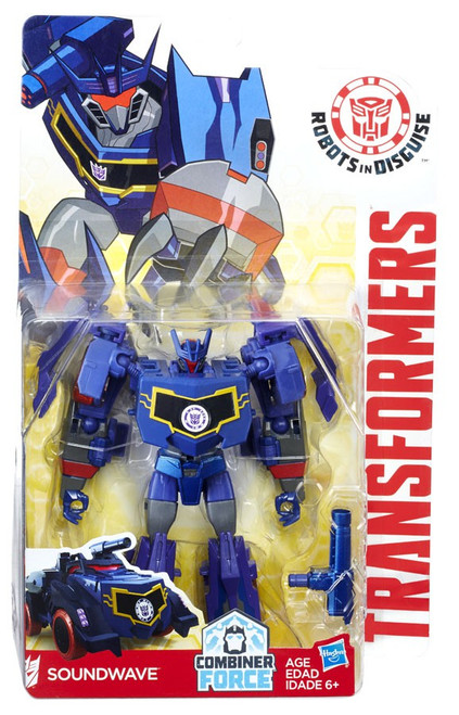 Transformers Robots in Disguise Soundwave Warrior Action Figure