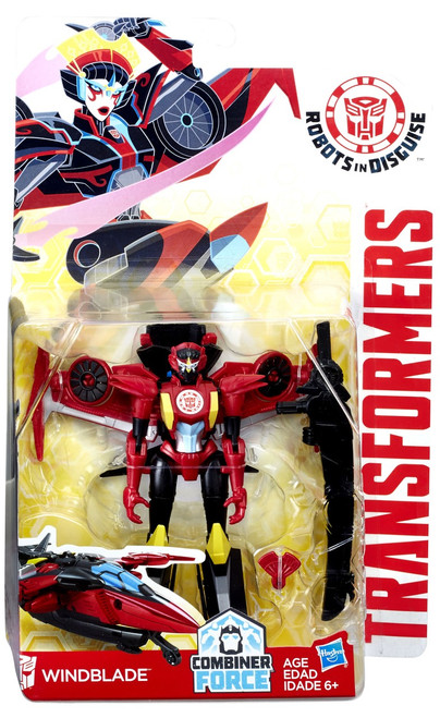 Transformers Robots in Disguise Windblade Warrior Action Figure
