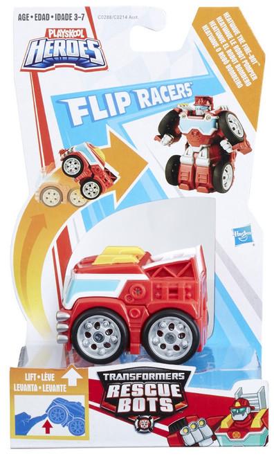 Transformers Playskool Heroes Rescue Bots Heatwave The Fire Bot Action Figure [Flip Racers]