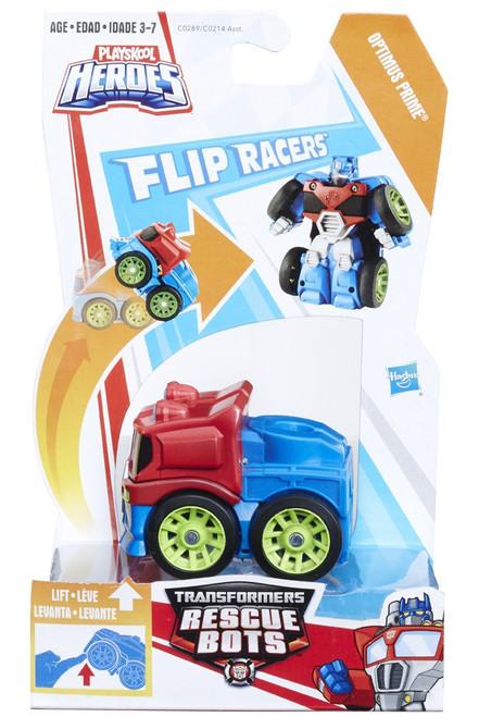 Transformers Playskool Heroes Rescue Bots Optimus Prime Action Figure [Flip Racers]