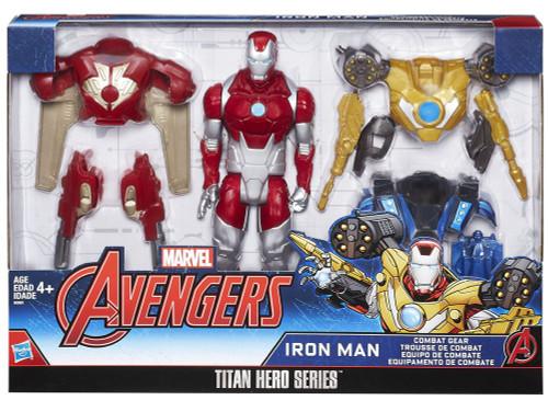 Avengers Titan Hero Series Iron Man Combat Action Figure