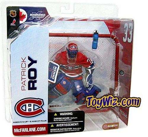 McFarlane Toys NHL Montreal Canadiens Sports Picks Series 5 Patrick Roy Action Figure [Red Jersey Variant Damaged]