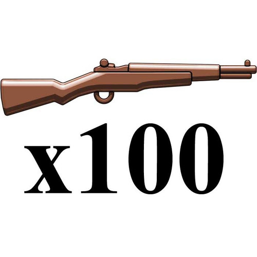 BrickArms Lot of 100 M1 Garand 2.5-Inch [Brown]