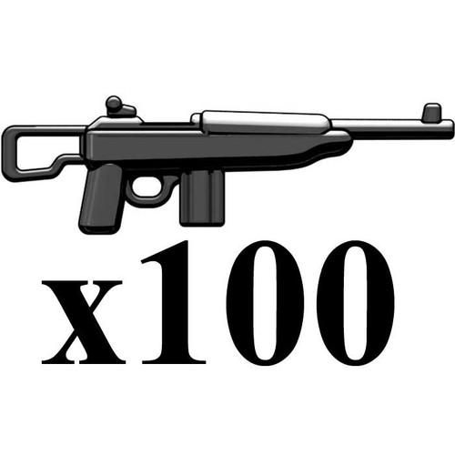 BrickArms Lot of 100 M1 Carbine Para 2.5-Inch [Black]