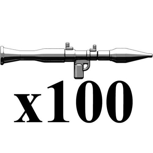 BrickArms Lot of 100 RPG-7 2.5-Inch [Black]
