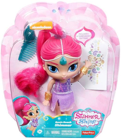 Fisher Price Shimmer & Shine Genie Beach Shimmer 6-Inch Basic Doll
