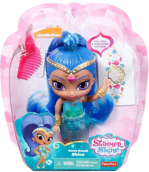 Fisher Price Shimmer & Shine Genie Beach Shine 6-Inch Basic Doll