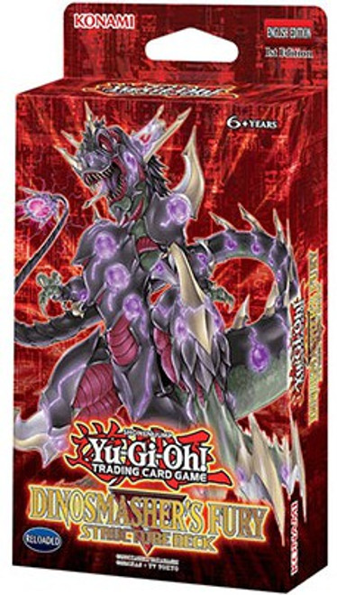 YuGiOh Trading Card Game Dinosmasher's Fury (1st Edition) Structure Deck