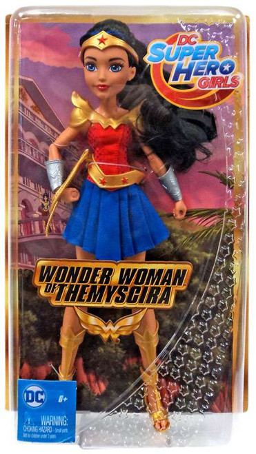 DC Super Hero Girls Wonder Woman of Themyscira Exclusive 12-Inch Deluxe Doll