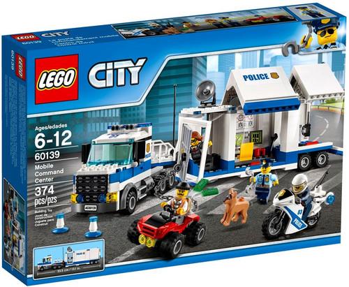 LEGO City Mobile Command Center Set #60139