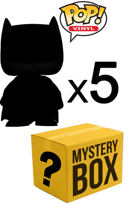 Funko MYSTERY BOX LOT of 5 Funko POP! Vinyl Figures [Completely Random!]