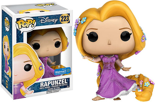 Funko Princess POP! Disney Rapunzel Exclusive Vinyl Figure #223 [Glitter Sparklle Dress]
