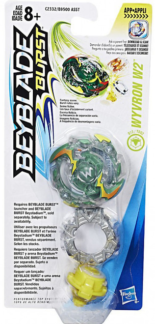 Beyblade Burst Wyvron W2 Single Top