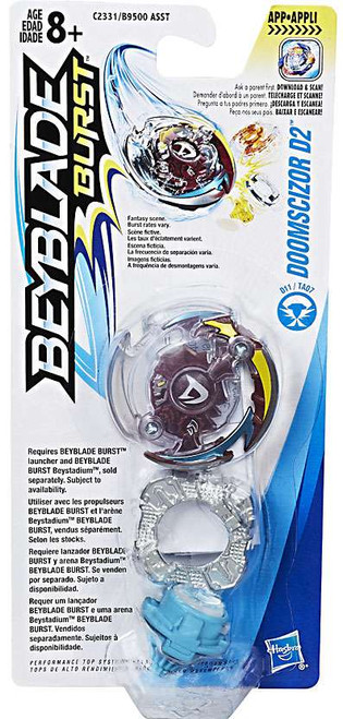 Beyblade Burst Doomscizor D2 Single Top