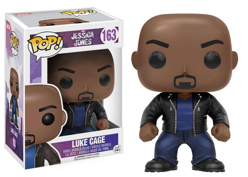 Funko Jessica Jones POP! Marvel Luke Cage Vinyl Bobble Head #163