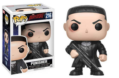 Funko Daredevil Netflix POP! Marvel Punisher Vinyl Bobble Head #216 [Regular Version]