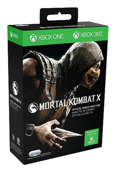 Xbox 360 Wired Mortal Kombat X Video Game Controller