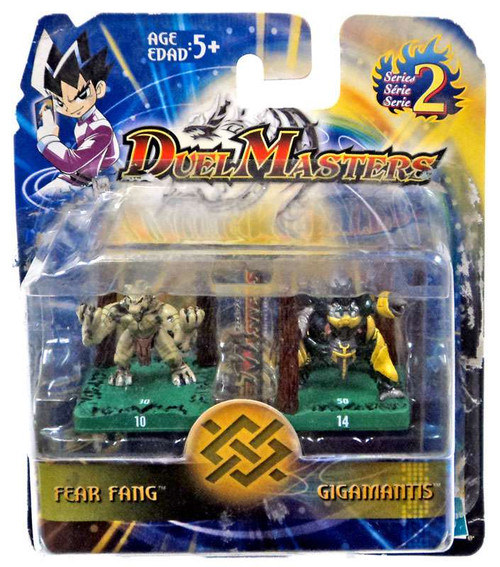 Dual Masters Series 2 Fear Fang & Gigamantis Mini Figure 2-Pack