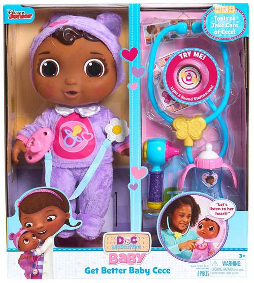 Disney Doc McStuffins Get Better Baby Cece Playset