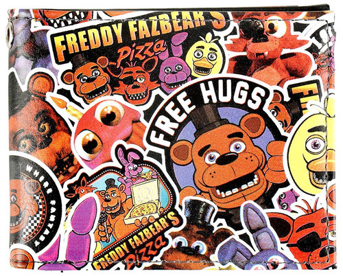 Five Nights at Freddy's Collage BI-FOLD Exclusive Wallet
