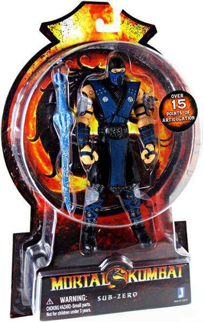 Mortal Kombat 20th Anniversary Sub-Zero Action Figure [Loose]