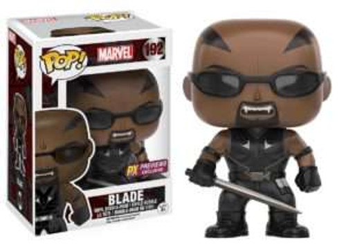 Funko POP! Marvel Blade Exclusive Vinyl Bobble Head #191