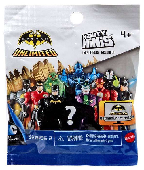 Mighty Minis Series 2 Batman Unlimited Mystery Pack