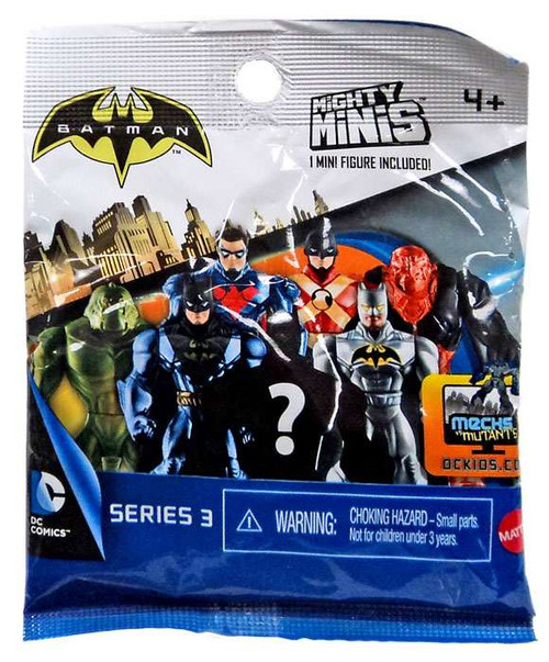 Mighty Minis Series 3 Batman Mystery Pack