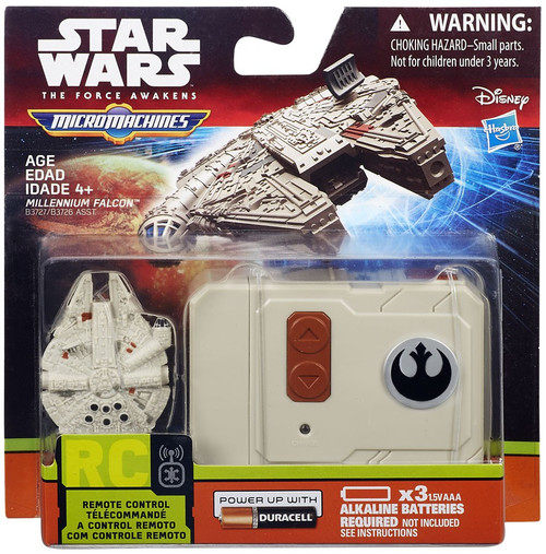 Star Wars The Force Awakens Micro Machines Millennium Falcon Micro R/C Vehicle