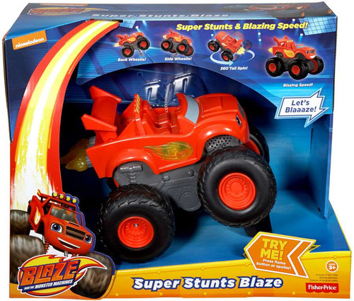 Fisher Price Blaze & the Monster Machines Super Stunt Blaze