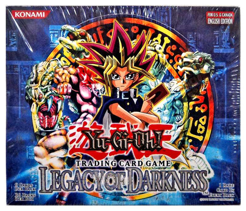 YuGiOh Trading Card Game Legacy of Darkness (Unlimited) Booster Box [36 Packs]