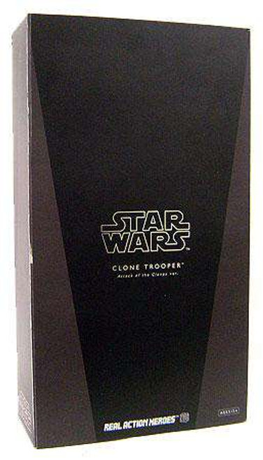 Star Wars Attack of the Clones Real Action Heroes Clone Trooper Action Figure [Damaged Package]