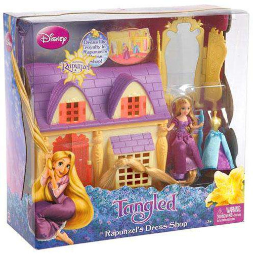 Disney Tangled Rapunzel's Dress Shop Playset [Damaged Package]