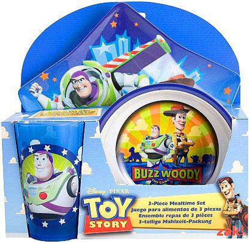 Toy Story 3-Piece Mealtime Set [Loose]