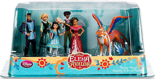 Disney Elena of Avalor Exclusive 6-Piece PVC Figure Play Set [Damaged Package]