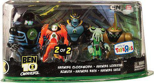 Ben 10 Omniverse Haywire Exclusive Action Figure 5-Pack #2 [Damaged Package]