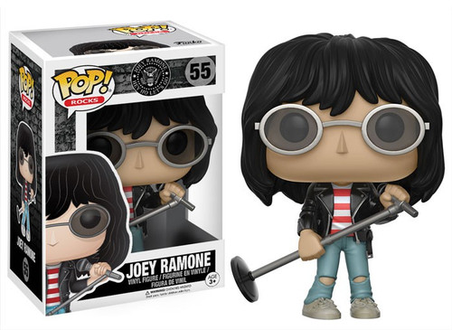Funko The Ramones POP! Rocks Joey Ramone Vinyl Figure #55