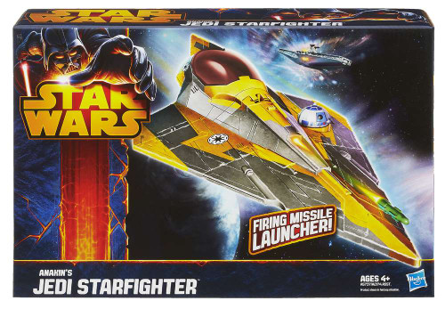 Star Wars Revenge of the Sith Class II Attack Vehicle Anakin's Jedi Starfighter [Damaged Package]