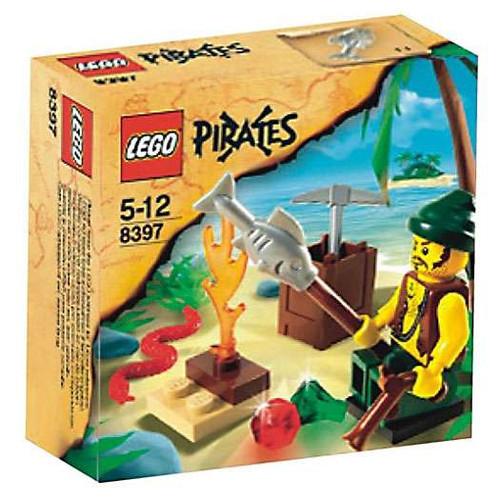 LEGO Pirates Pirate Survival Set #8397 [Damaged Package]