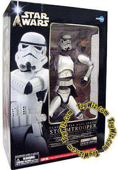 Star Wars ArtFX Snap Fit Luke in Stormtrooper Armor Vinyl Statue [Damaged Package]