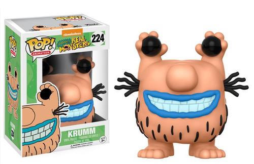 Funko Nickelodeon Aaahh!!! Real Monsters POP! TV Krumm Vinyl Figure #224