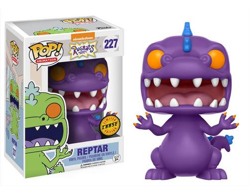 Funko Nickelodeon Rugrats POP! TV Reptar Vinyl Figure #227 [Purple, Chase Version]