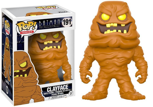 Funko Batman The Animated Series POP! Animation Clayface Vinyl Figure #191