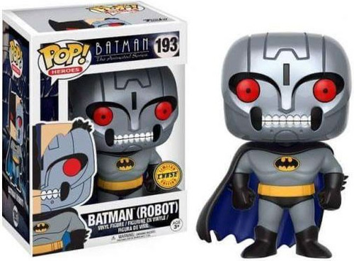 Funko The Animated Series POP! Animation Robot Batman Vinyl Figure [Chase Version]