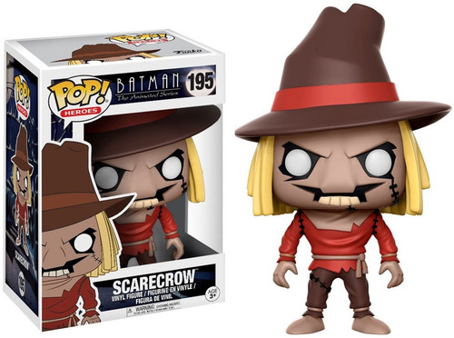 Funko Batman The Animated Series POP! Animation Scarecrow Vinyl Figure #195