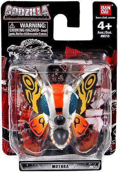 Godzilla Chibi Super Deformed Mothra Mini Figure [Loose]