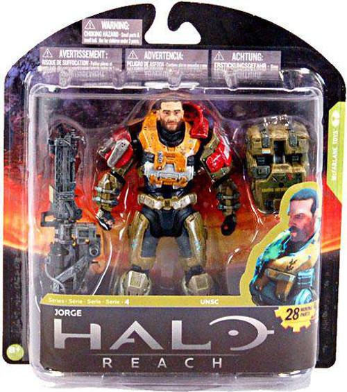 McFarlane Toys Halo Reach Series 4 Jorge Action Figure [Unmasked, Loose]
